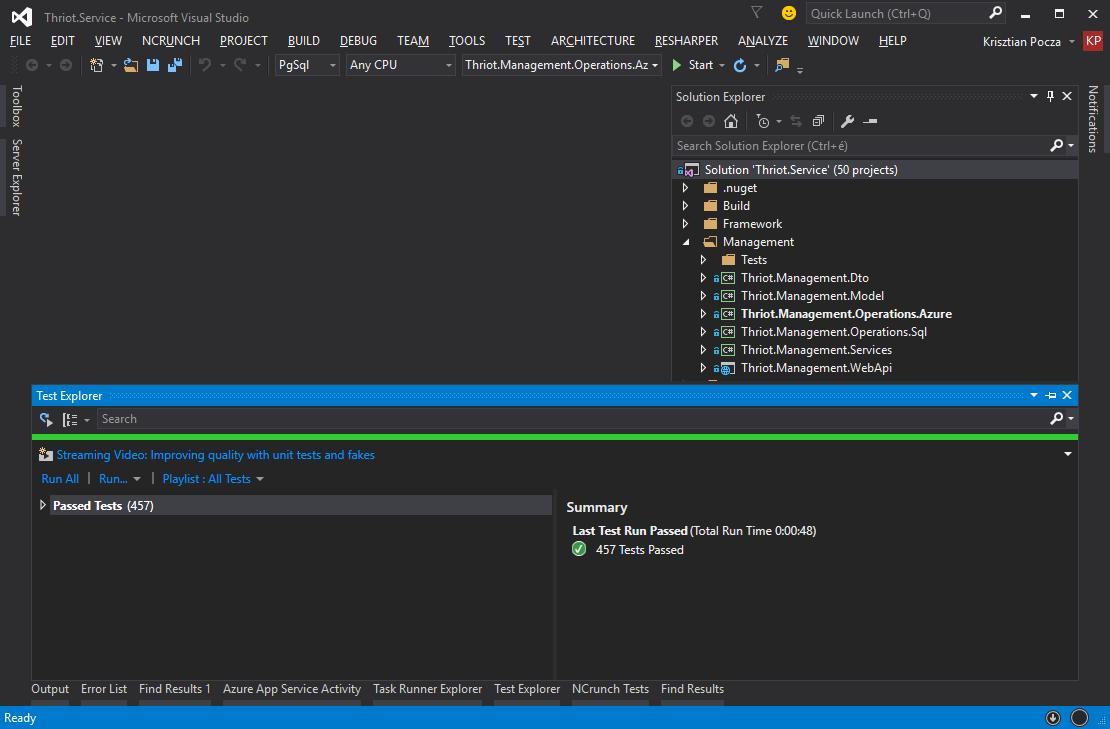 Development on Windows/ NET – thriot